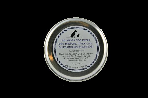 Hautberuhigender Balsam für Hunde